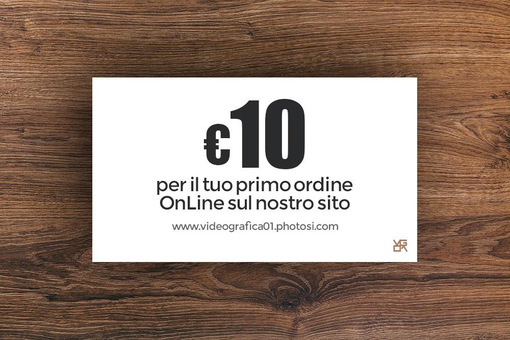 ordina online sconto 10 euro stampa