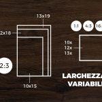 Larghezza variabile stampe 10x 12x 13x larghezza variabile foto stampa digitale fotografie