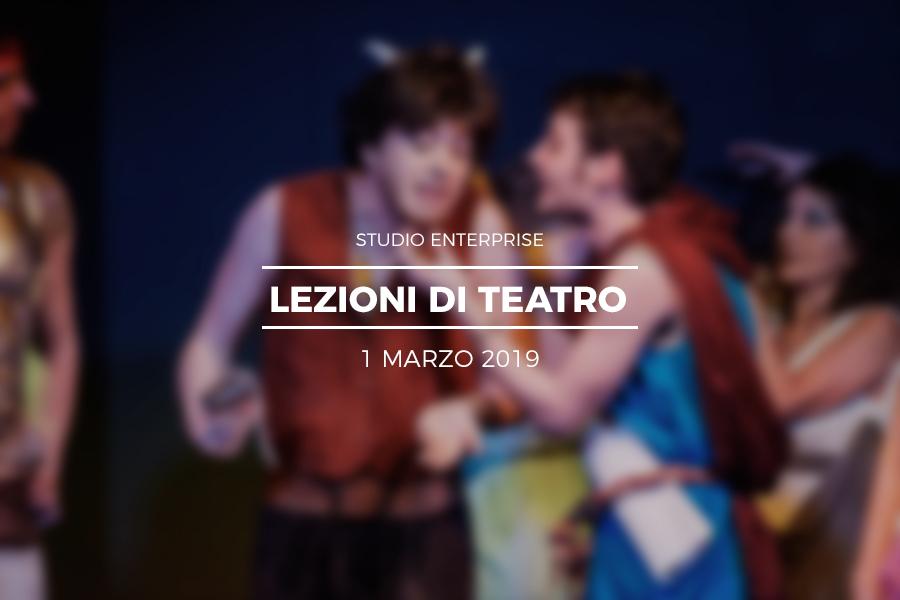 Protetto: Enterprise – Lezioni di Teatro 2019