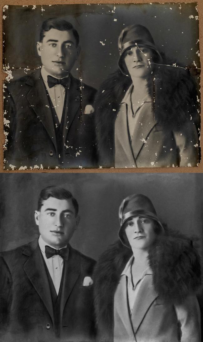 restauro fotografie grosseto